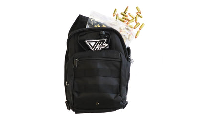 Range Bag Black 250rds 115gr 9mm - Dynamic Munitions 308 Brass, shooting accessories, long range shooting, 223 rounds, bulk ammo, 223 shells, chrome moly, 308 once fired brass, shooting bags 223 rem, 5.56