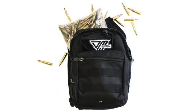 Range Bag Black 250rds 55gr .223 - Dynamic Munitions 308 Brass, shooting accessories, long range shooting, 223 rounds, bulk ammo, 223 shells, chrome moly, 308 once fired brass, shooting bags 223 rem, 5.56