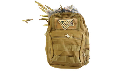 Range Bag Tan 250rds 55gr .223 - Dynamic Munitions 308 Brass, shooting accessories, long range shooting, 223 rounds, bulk ammo, 223 shells, chrome moly, 308 once fired brass, shooting bags 223 rem, 5.56