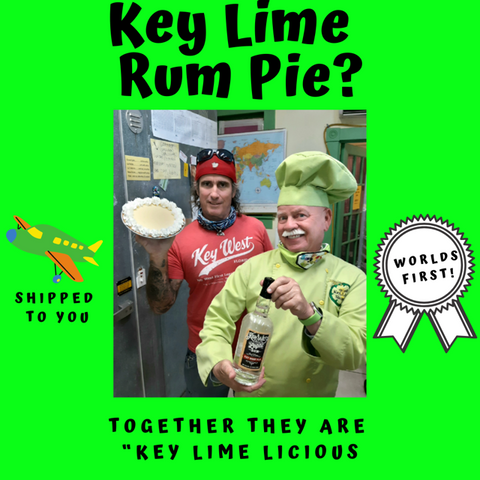 Key Lime Rum Pie Fedex overnight shipping