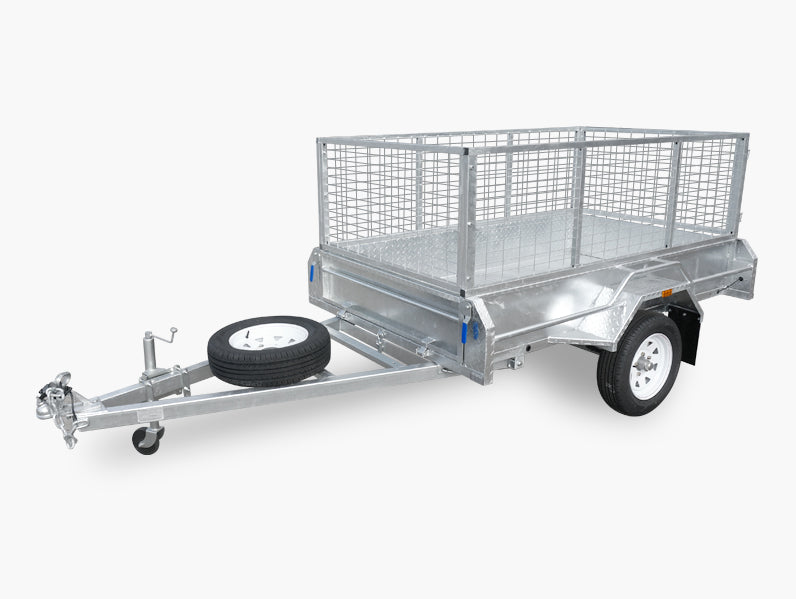 7x4 (Fully Welded) Single Axle Trailer