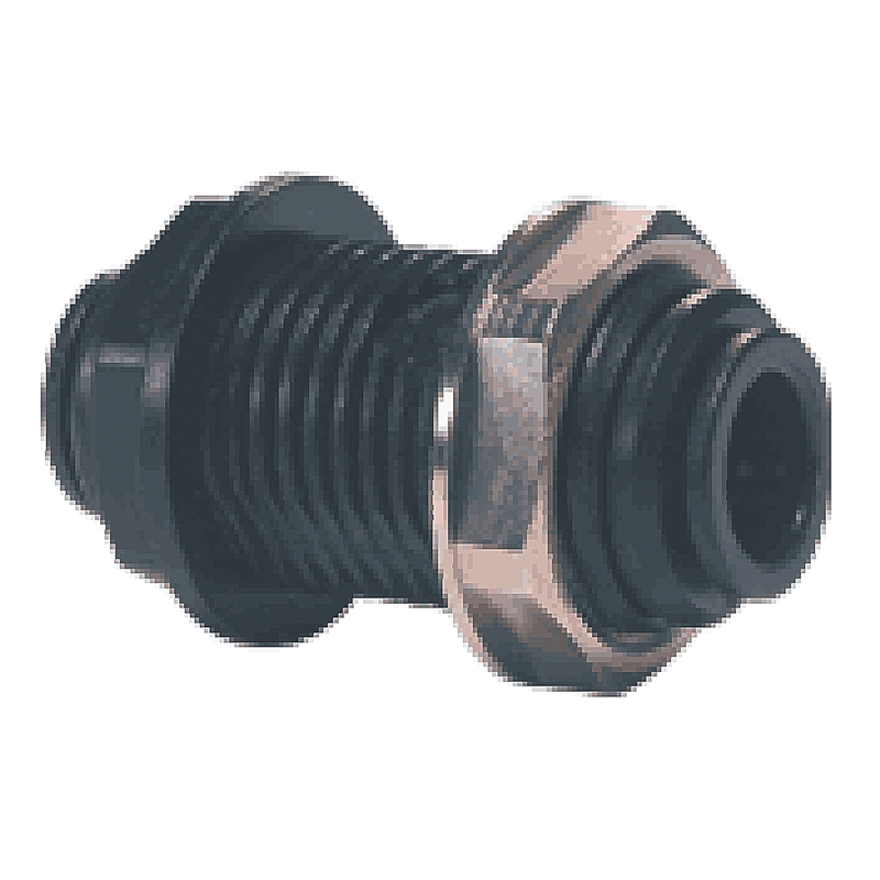 John Guest 12mm Bulkhead Adapter