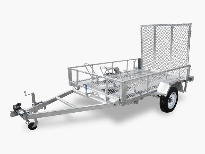 8x5 (Motorcycle & ATV) Single Axle Trailer