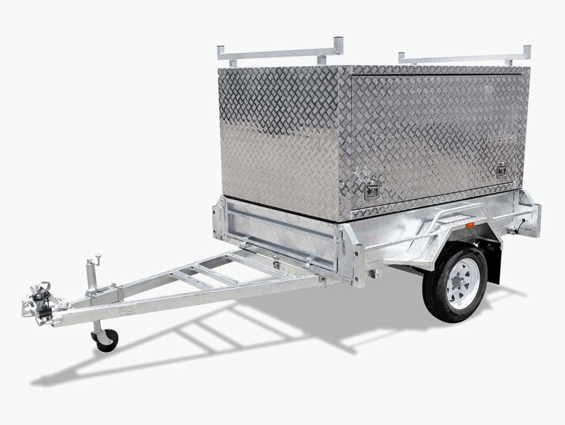 7x4 Single Axle Tradesman Trailer