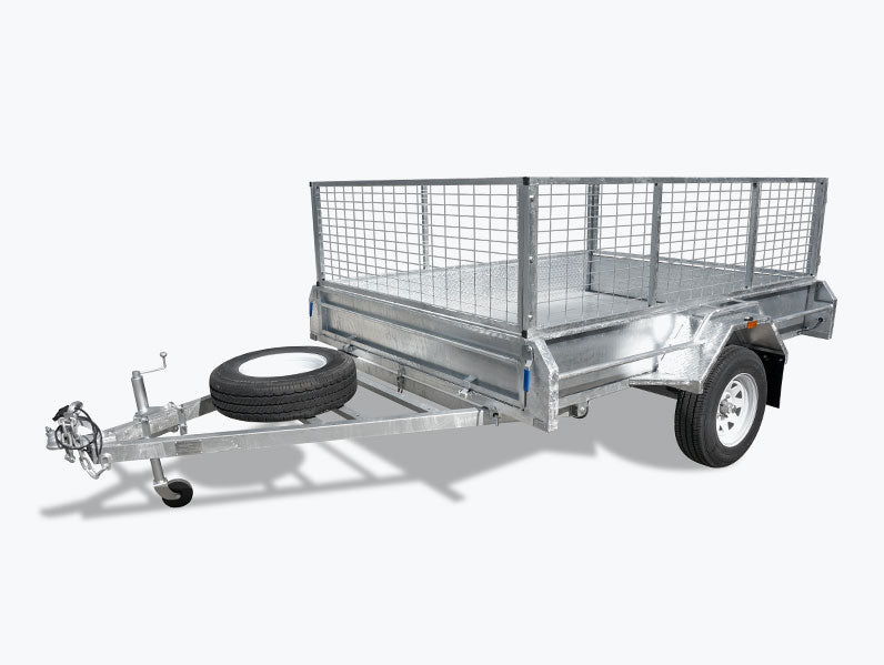 8x5 (Fully Welded) Single Axle Trailer