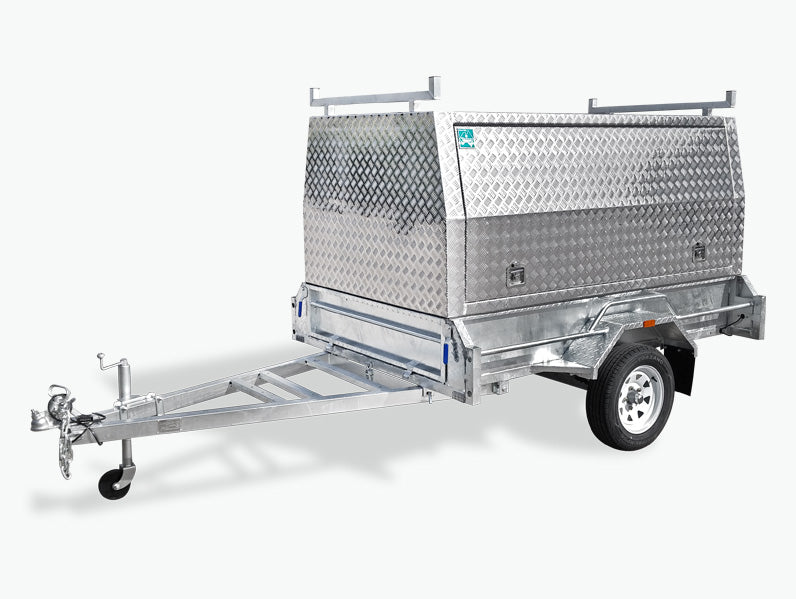 8x5 Single Axle Tradesman Trailer