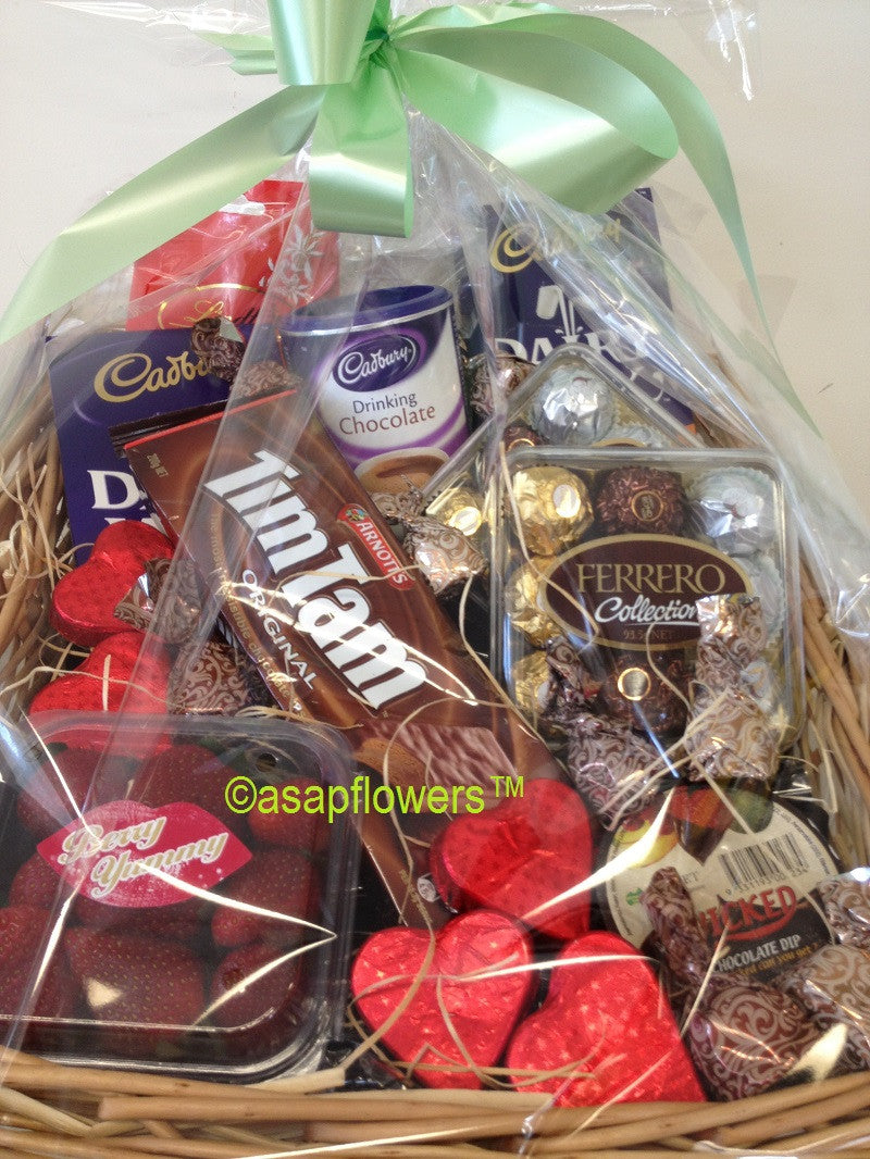 chocolate hamper gold coast delivery
