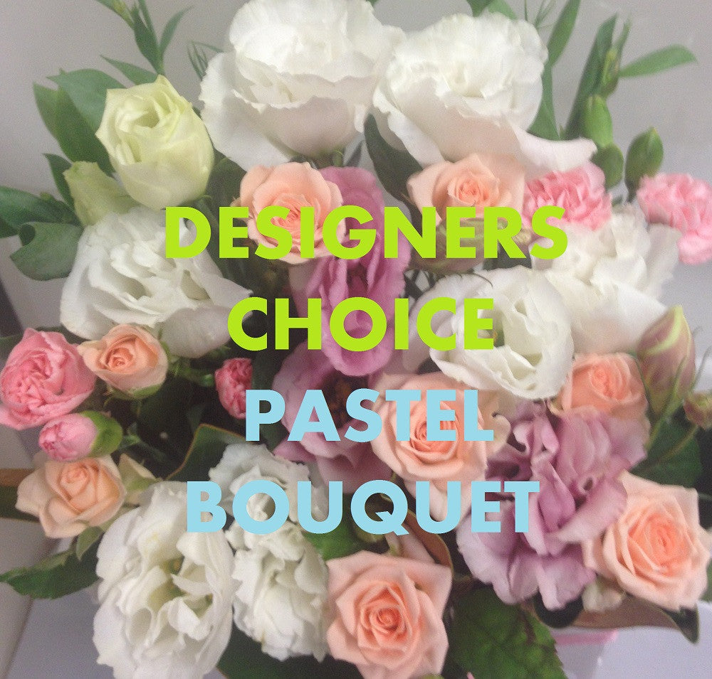 WORLDWIDE DESIGNERS CHOICE - PASTEL BOUQUET - $89.95