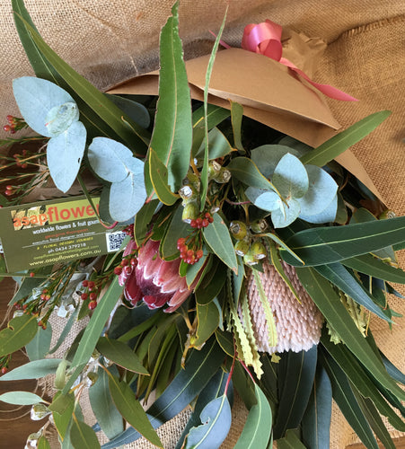 native bunch mothers day flower delivery gold coast queensland