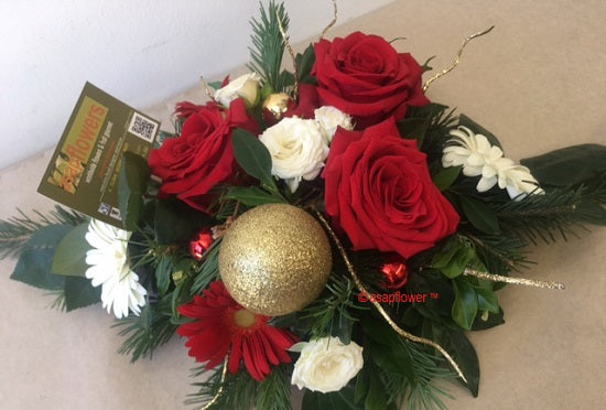 Jingle Christmas Table Centre Gold Coast Florist Burleigh