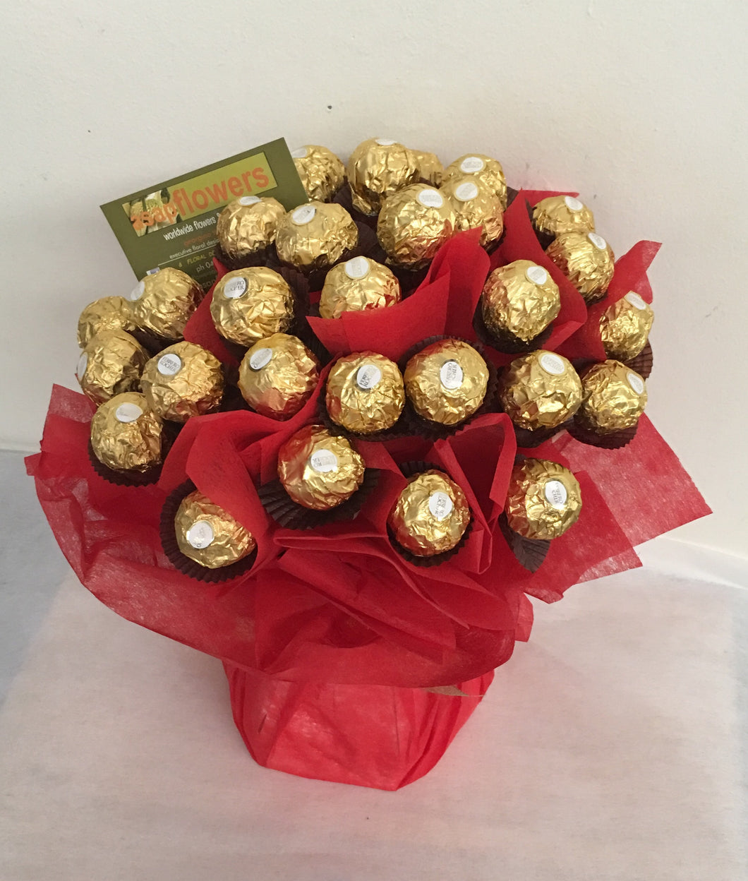 Ferrero Chocolate Bouquets- New Product