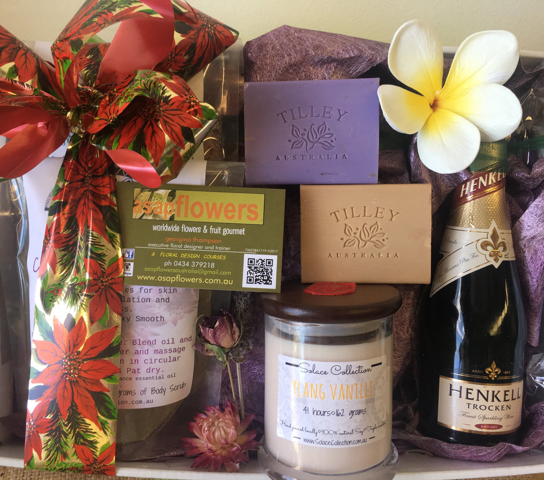 gift box pamper gold coast delivery