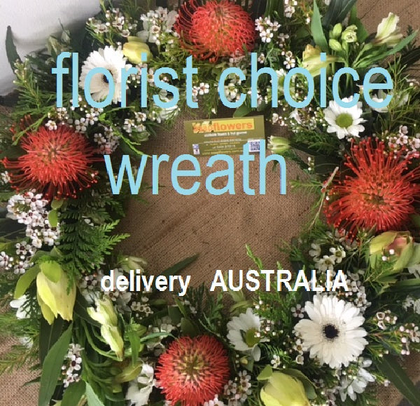 Funeral Wreath Small - Australia only, this size