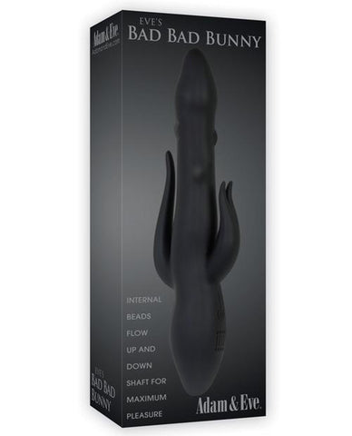 Adam & Eve Eve's Bad Bad Bunny-rabbit vibrator-Evolved Novelties, Inc.-black-Nakees