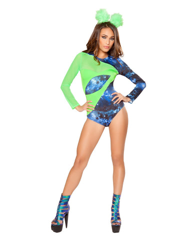 Lethal Hottie costumes Size SmallColor GreenNakees