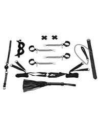 All Chained Up Bondage Play 6 Piece Bedspreader Bondage Set-sex toys-Lux-Nakees