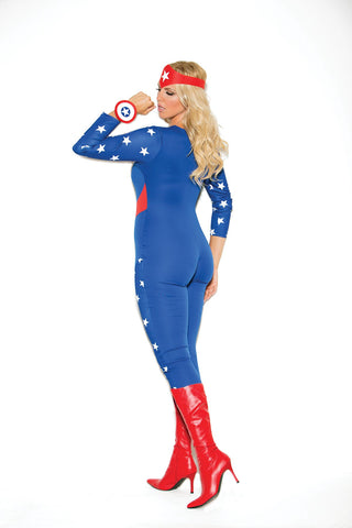 American Hero Superhero Costume-costumes-Elegant Moments-Nakees