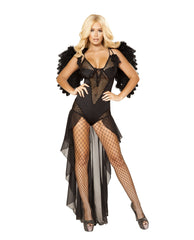 Angel of Darkness costumes Size SmallColor BlackNakees