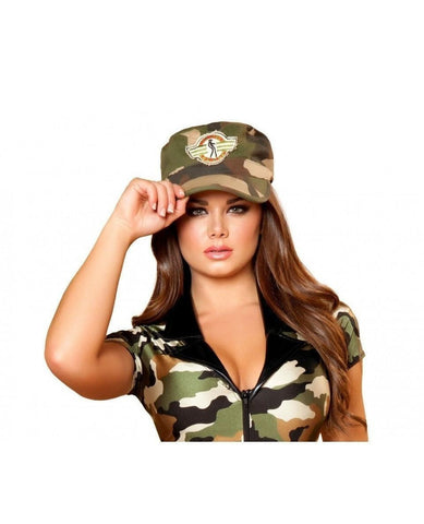 Army Hat-Accessories-Roma Costume-As Shown-One Size-Nakees