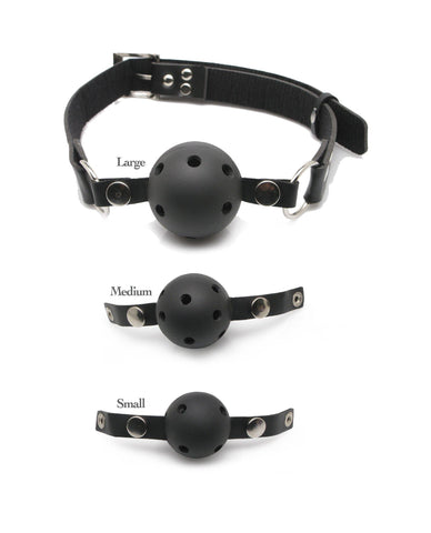 Ball Gag Training Kit sex toys color black  Nakees
