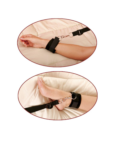 Beginner's Leather Cuffs couples color blackNakees