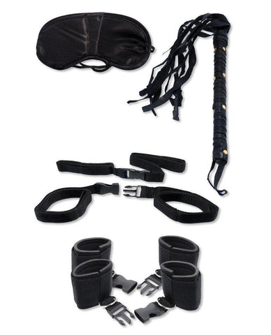Ultimate Bondage Kit sex toys color blackNakees
