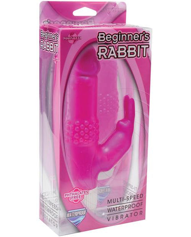 Beginner's Rabbit Waterproof-rabbit vibrator-Pipedream Products-pink-Nakees