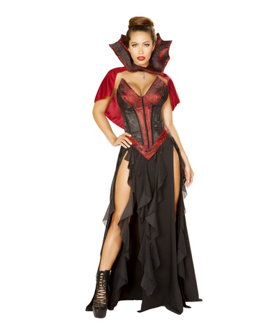 Little Dark Red Riding Sexy Costume costumes Size SmallColor Black/RedNakees