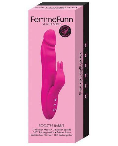 Booster Rabbit Vibrator sex toys color purple  Nakees