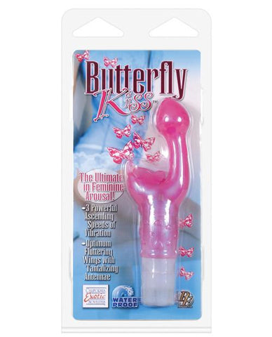 Butterfly Kiss G-Spot Vibrator women color pink  Nakees