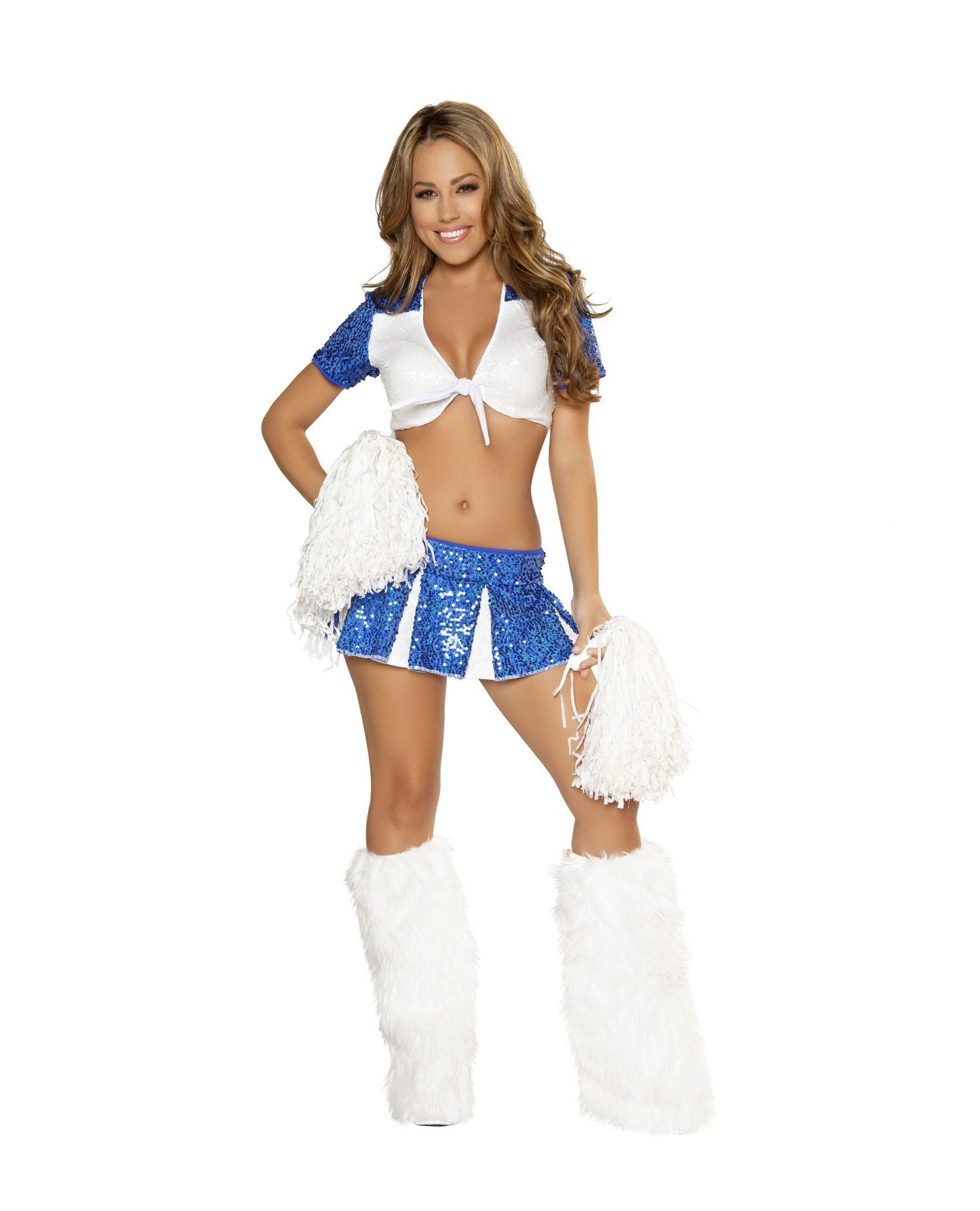 Charming Cheerleader costumes Color As ShownSize S/MNakees