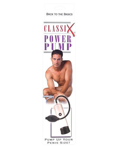 Classix Power Pump men color black  Nakees