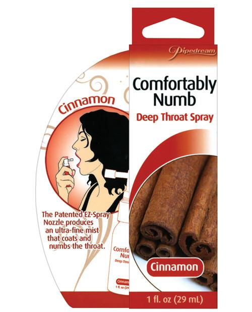 Comfortably Numb Deep Throat Spray - Cinnamon couples Nakees