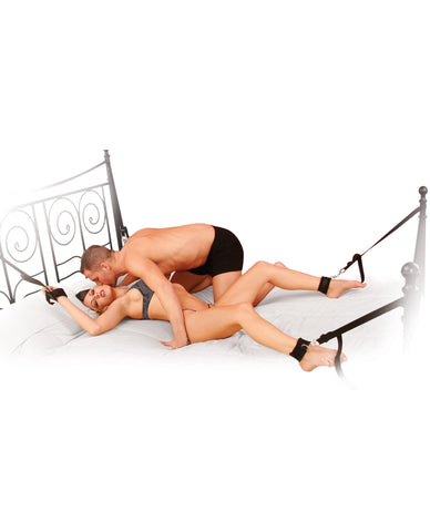 Cuff & Tether Set-couples-Pipedream-black-Nakees