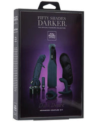 Dark Desire Advanced Couples Bondage Kit sex toys color blueNakees