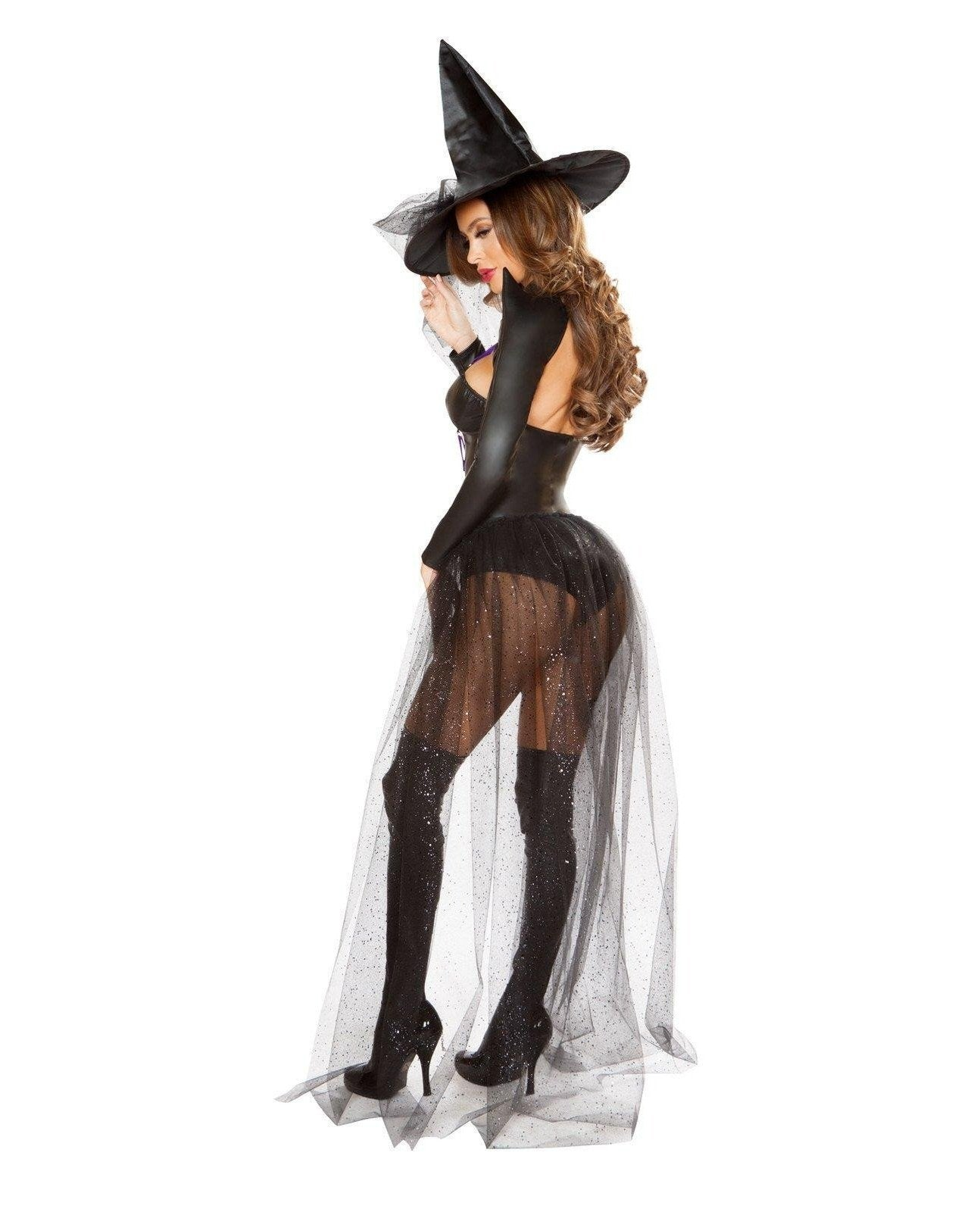 Dark Witch Costume Costumes Size SmallColor Black/PurpleEM - Return Department
