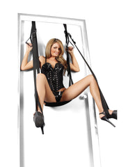 Deluxe Door Swing couples color black  Nakees