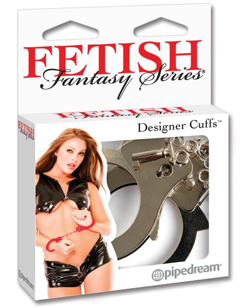 Designer Handcuffs sex toys color redNakees