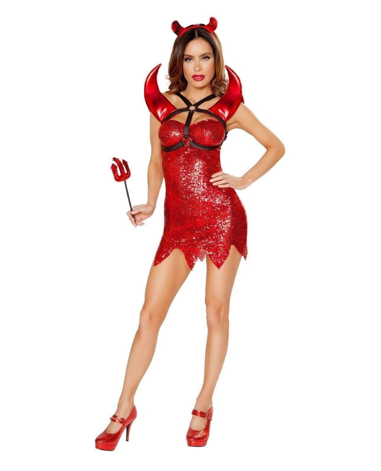 Devil Dress Costume Costumes Size SmallColor RedNakees