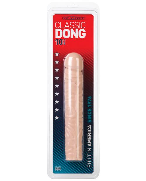 "Doc Johnson Classic 10"" Dong-sex toys-Doc Johnson-natural-Nakees"