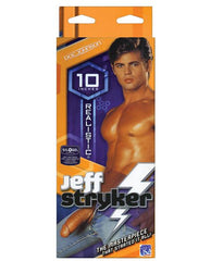 "Doc Johnson Jeff Stryker 10"" Realistic Cock-sex toys-Doc Johnson-flesh-Nakees"
