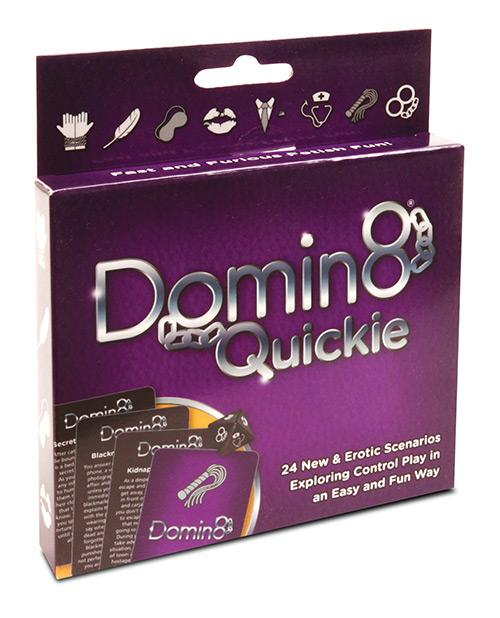 Domin8 Quickie Bondage Game sex toys Nakees