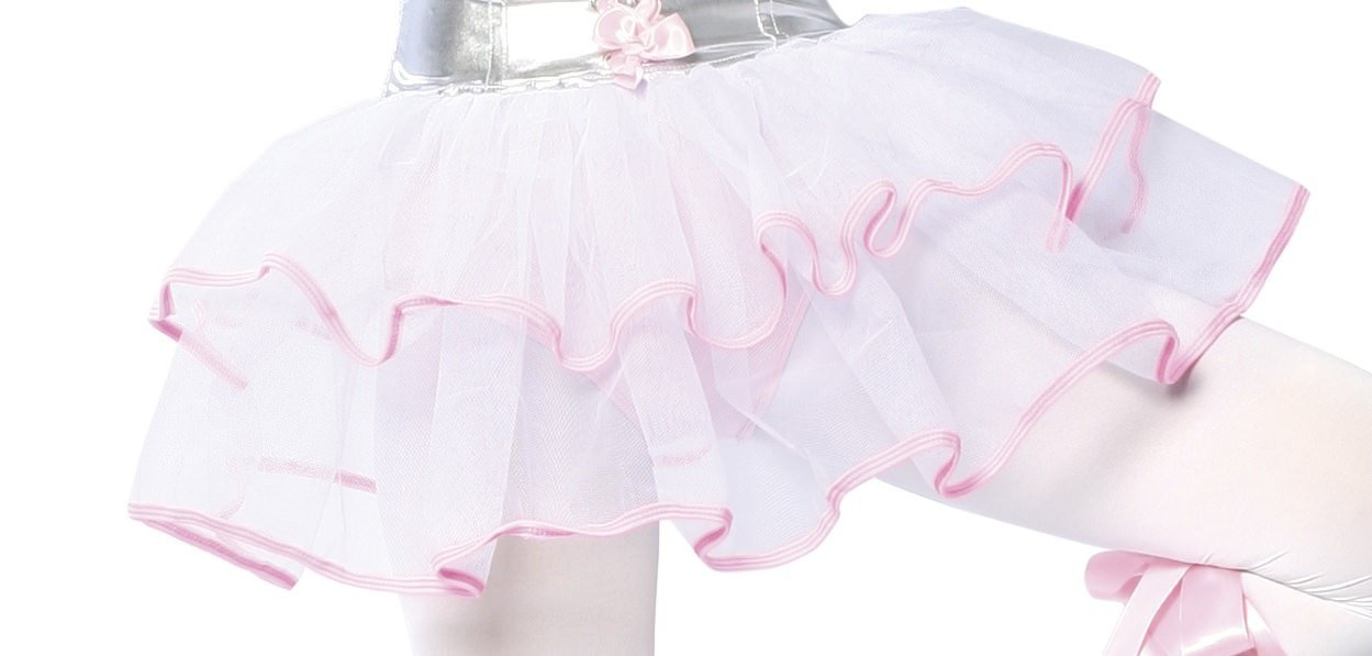 Double Layered Petticoat costumes Color BlackSize One SizeNakees