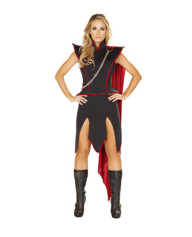 Dragon Realm Queen-costumes-Roma Costume-Small-Black/Red-Nakees