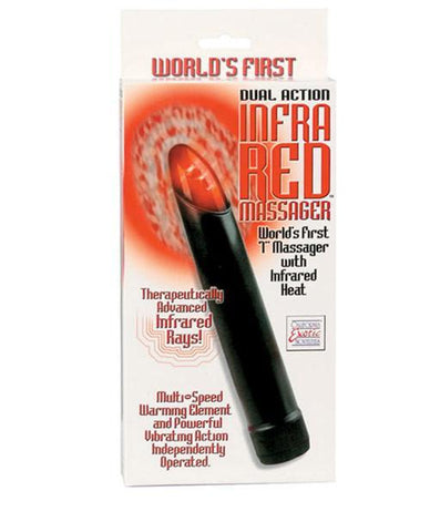 Dual Action Infra Red Massager-women-Calexotics-black-Nakees