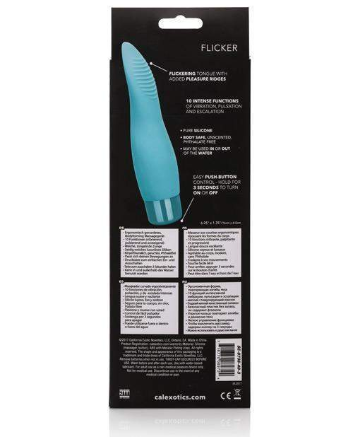 Eden Flicker Vibrator vibrators color turquoiseNakees