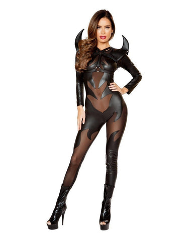 Evil Devil Costume-Costumes-Roma Costume-Small-Black-Nakees