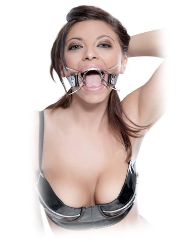 Extreme Spider Gag sex toys color silver  Nakees