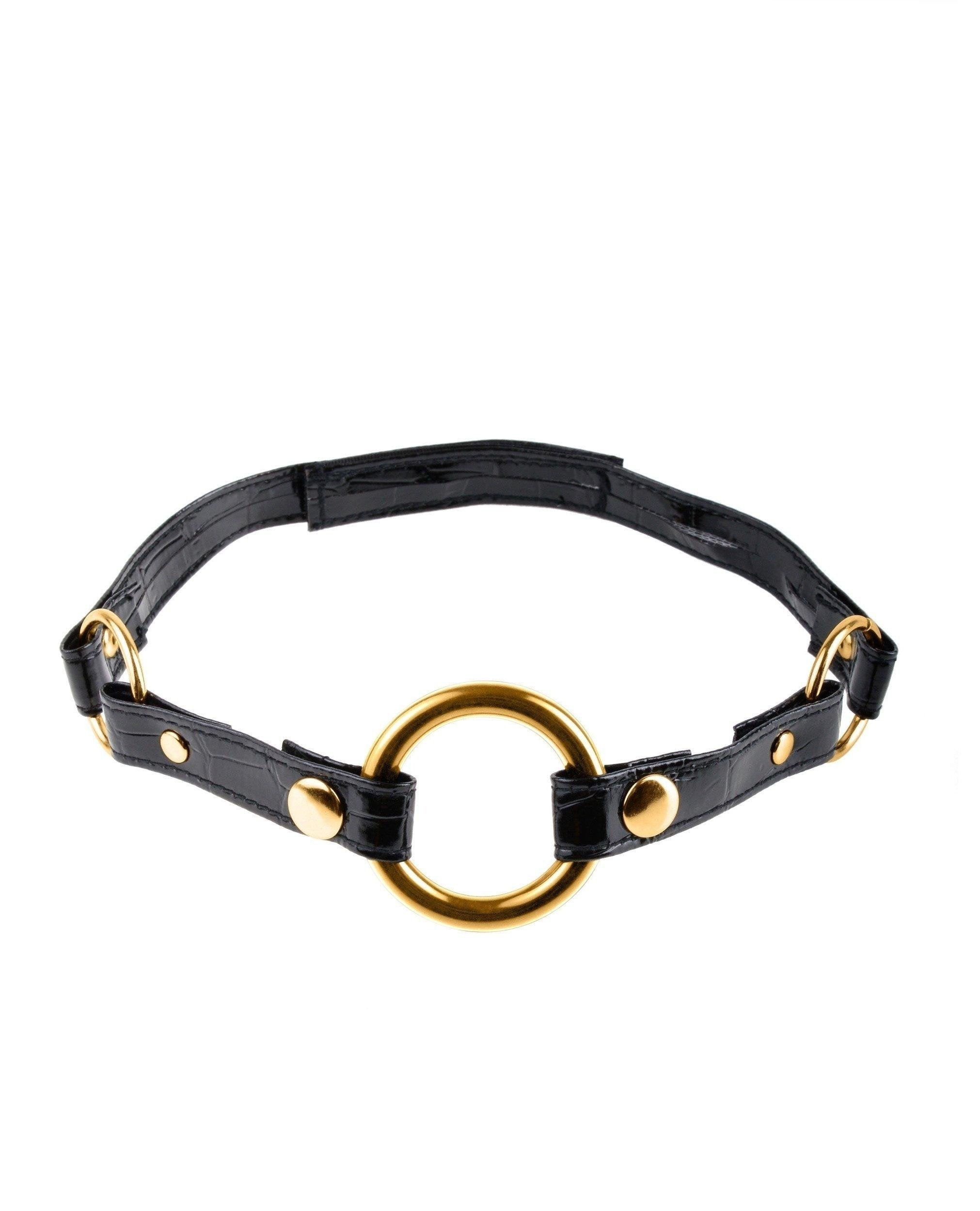 Fetish Fantasy Gold O Ring Gag-sex toys-Pipedream-gold-Nakees