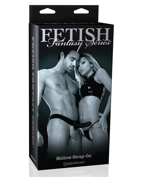 Fetish Fantasy Limited Edition Hollow Strap-On-dildo-Fetish Fantasy Limited Edition-black-Nakees